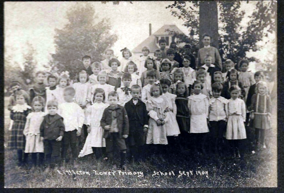 1904 Class Picture - Littleton, Massachusetts Lower Primary School