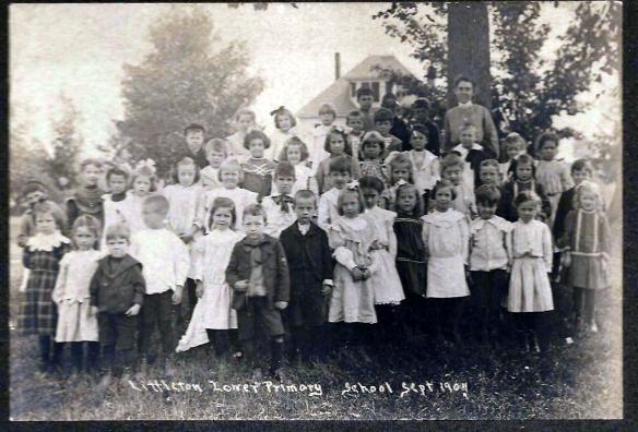 1904 Class Picture - Littleton, Massachusetts Lower Primary School