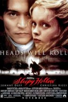 Johnny Depp & Christina Ricci in Sleepy Hollow.