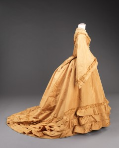 Silk Wedding Dress, 1851, Metropolitan Museum of Art